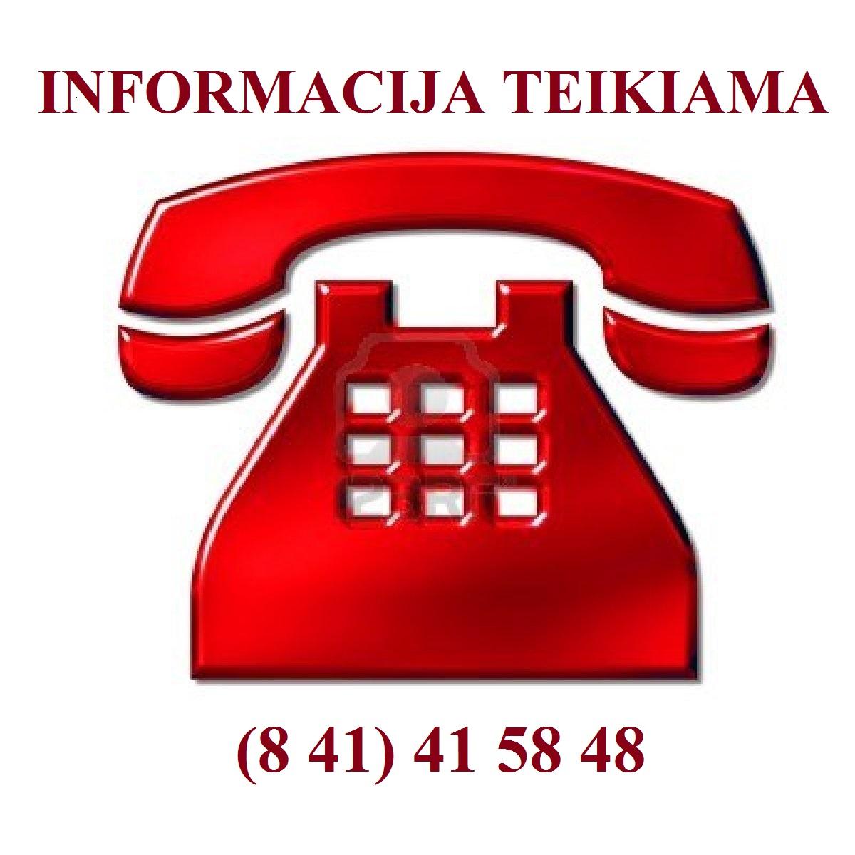 Informacijos telefonas